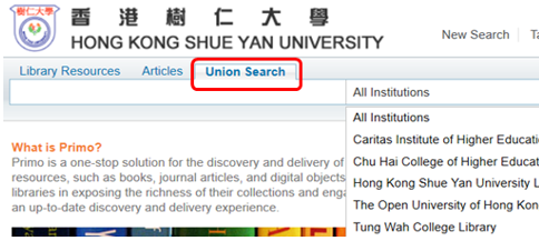 Union Search