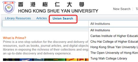 Union Search