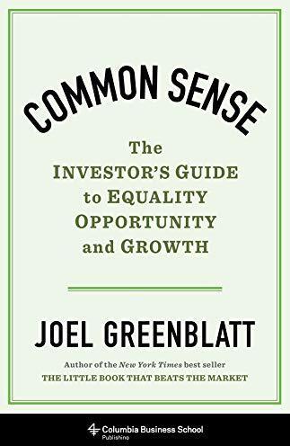Common sense : the investor