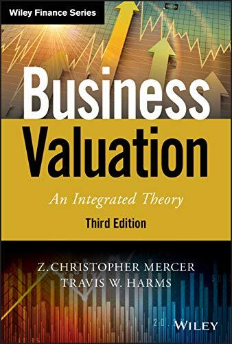 Business valuation : an integrated theory /  Mercer, Z. Christopher, author
