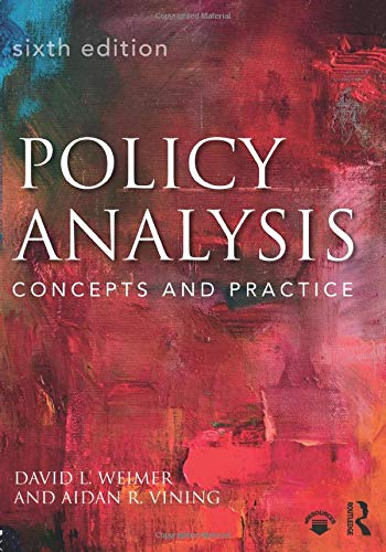 Policy analysis : concepts and practice /  Weimer, David Leo, author