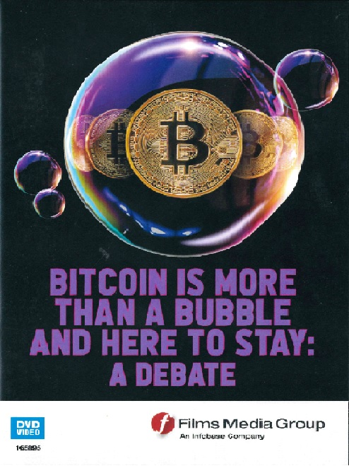Bitcoin is more than a bubble and here to stay a debate